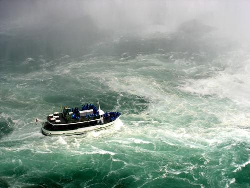 maid of the mist en Niagara
