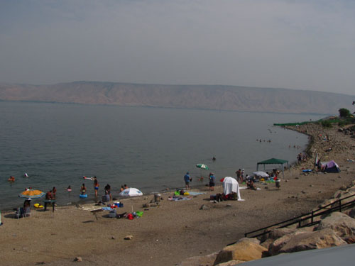 Vacaciones en el Mar de Galilea