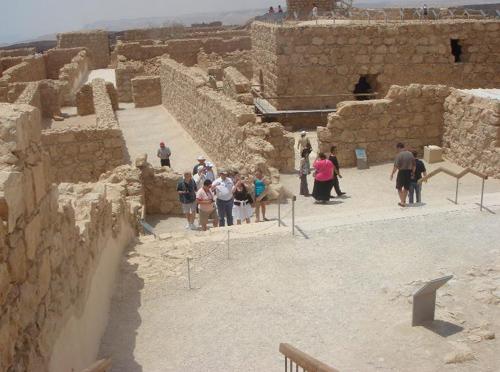 la Semilla de Herodes Masada