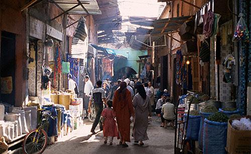 Un paseo por la Medina de Marrakech