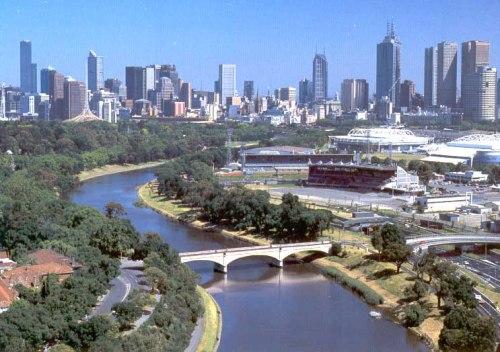 Visita a Melbourne, en Australia