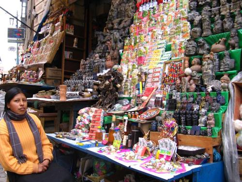 El Mercado de las Brujas, en Bolivia