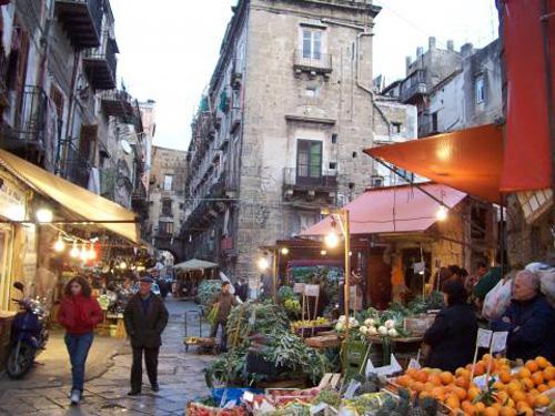 Vucciria, el pintoresco mercado de Palermo