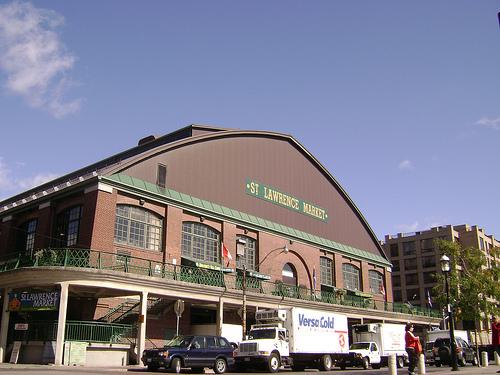 De paseo por el Mercado St. Lawrence, en Toronto