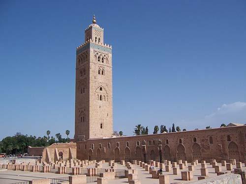 La Mezquita Kutubia, modelo de mezquitas