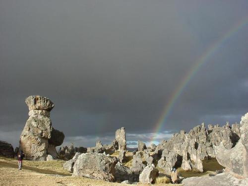 El bosque de piedras de Huayllay
