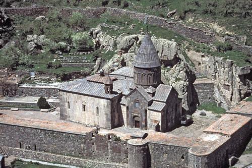 El monasterio de Geghard