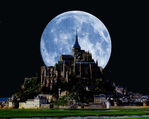 Mont Saint Michel, abadia divina