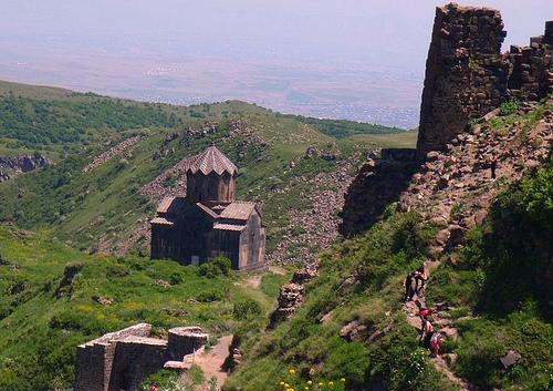 La belleza del Monte Aragats, en Armenia