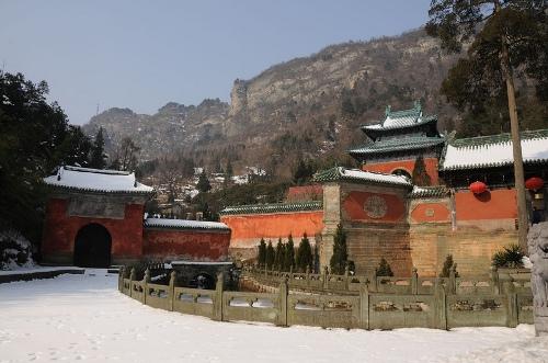 Los antiguos edificios de los montes Wudang