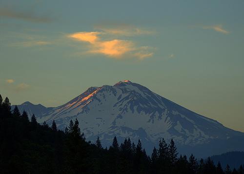 El Monte Shasta, en California