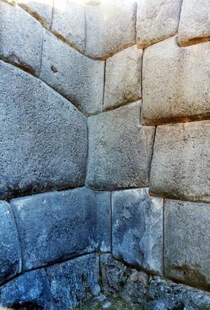 Muro en Sacsayhuaman