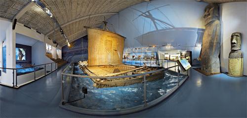 museo kon tiki  en Oslo