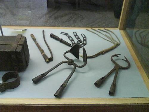 El Museo Medieval del Crimen, en Rothenburg ob der Tauer