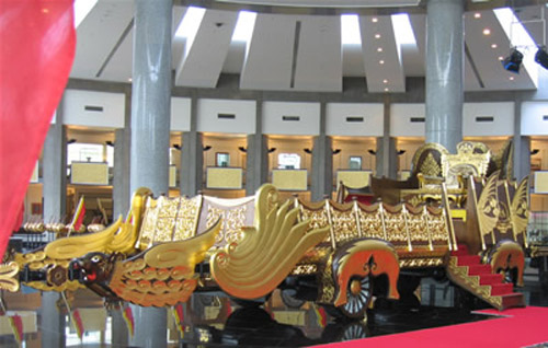 Un museo real, en Brunei