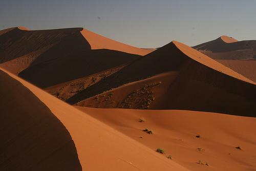 Desiertos en Namibia