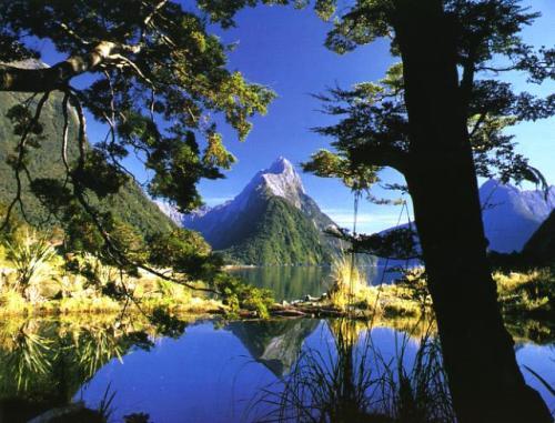 El Parque Nacional Fiordland, en Nueva Zelanda