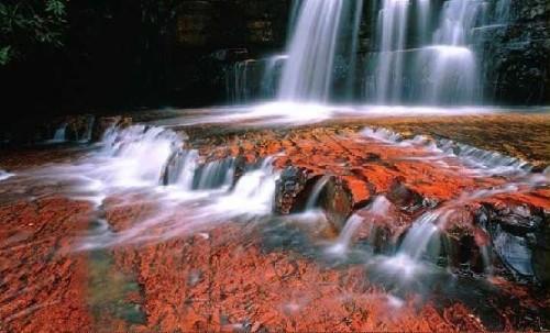El Parque Nacional Canaima, en Venezuela