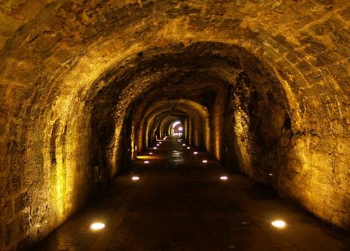 Tunel de la Atalaya en Laredo