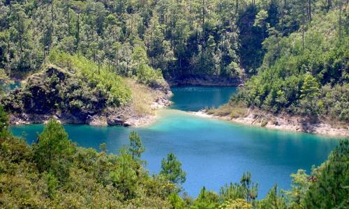 Parque Nacional Lagunas de Montebello, Chiapas, México