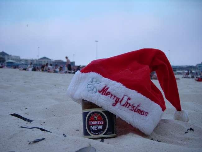 Navidad en las playas australianas