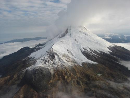 El Nevado del Huila, en Colombia