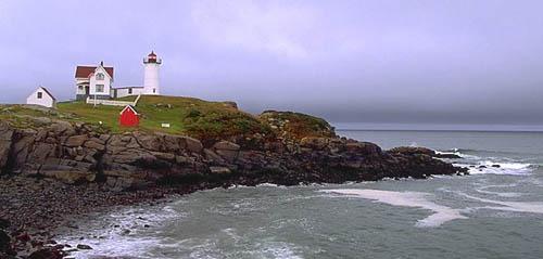 Faro en Maine Nubble