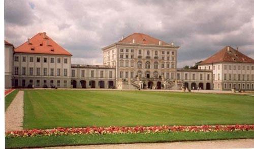 El Palacio Nymphenburg, en Munich