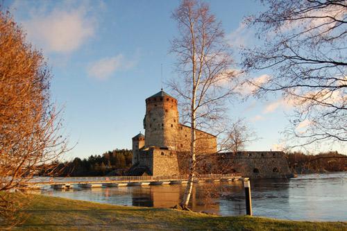 Olavinlinna, el mejor castillo medieval de Finlandia