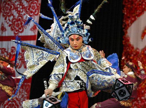 La Ópera de Beijing, tesoro cultural chino