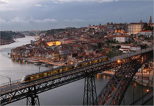 Porto, entre el barroco y el vino