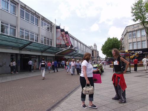 Oxford Street. Entrada al mercado