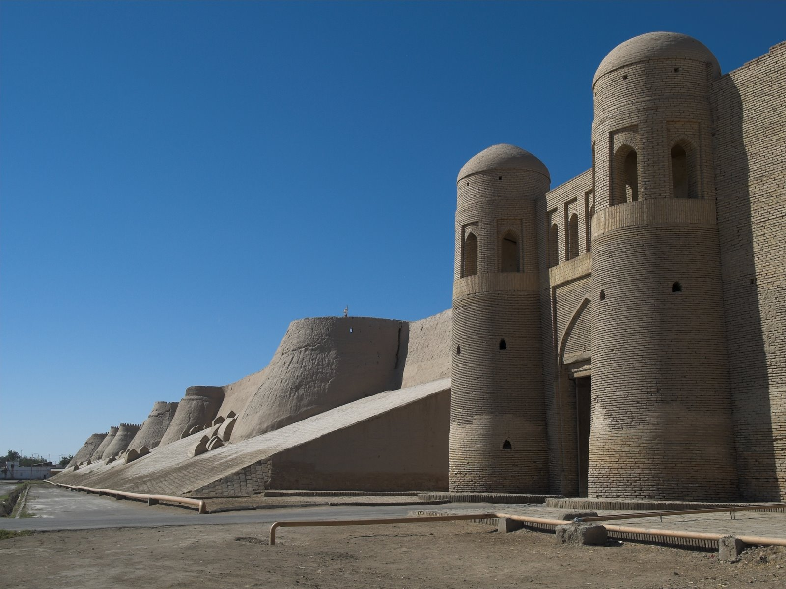 Khiva, vertice del Triangulo de Oro en Uzbekistan