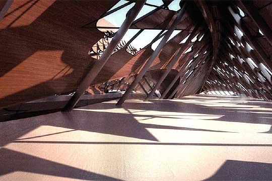 El Pabellon Puente de la Expo Zaragoza 2008