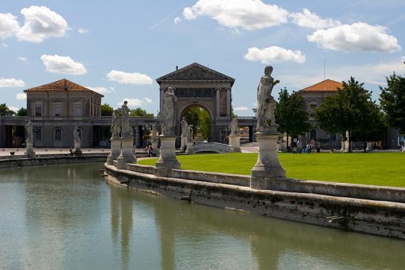 El Jardin Botanico de Padua, arte floral