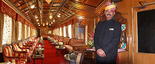 El Palace on Wheels, palacio sobre ruedas
