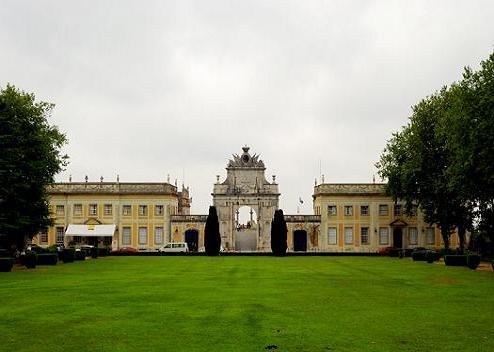 El hotel-palacio de Seteais, en Portugal