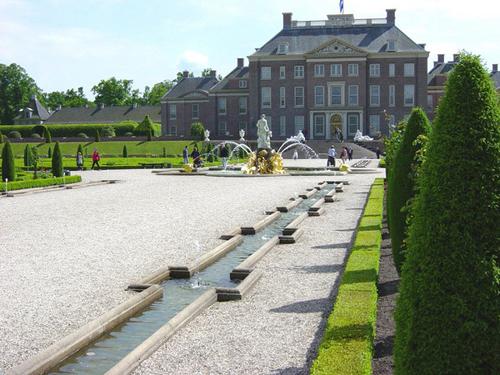 Visitando el Palacio Het Loo, en Holanda