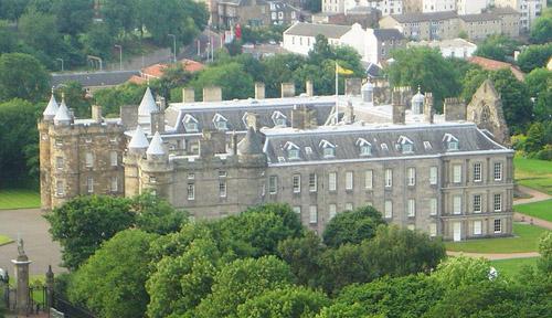 El Palacio Holyroodhouse, en Edimburgo