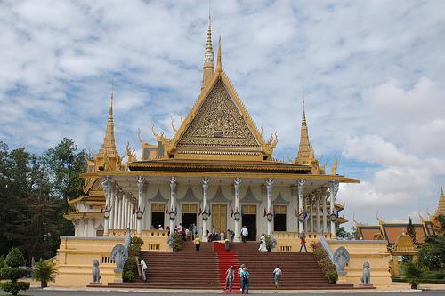 El Palacio Real de Phnom Penh