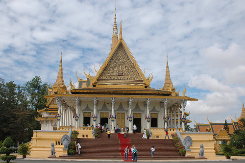 palacio real camboyano