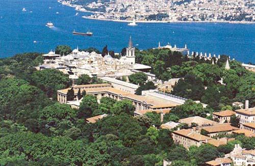 El Palacio Topkapi, en Estambul