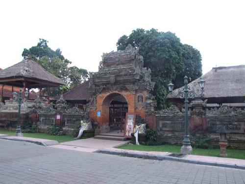 Palacio Puri Saren Ubud en Indonesia