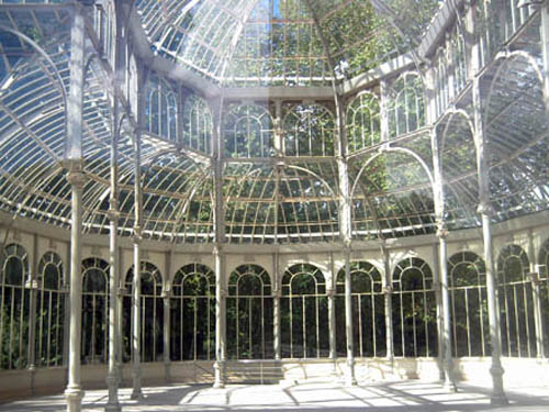 El Palacio De Cristal En Madrid