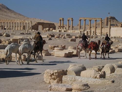 Las ruinas de Palmyra, uniendo oriente y occidente