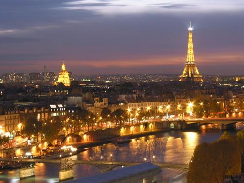 Viaje de novios, tres días en París