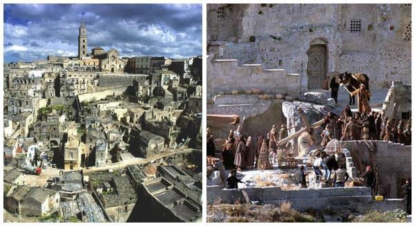 Matera en Italia - La Pasion de Cristo