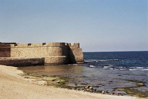 La antigua ciudad de Acre, en Israel