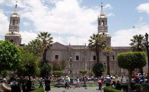 Basìica Catedral, Arequipa, Patrimonio Humanidad Unesco, Perú
