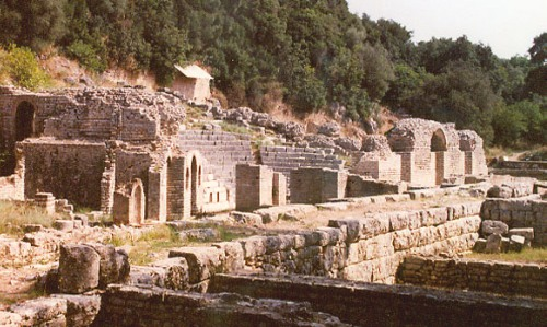 La antigua ciudad de Butrint, en Albania